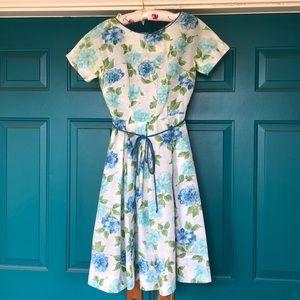 Vintage 1950s Floral Dress